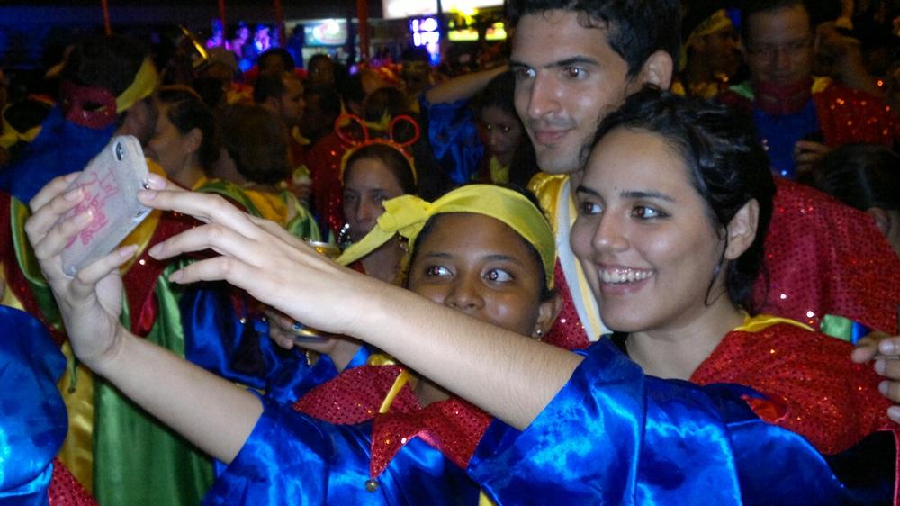 selfie de carnaval