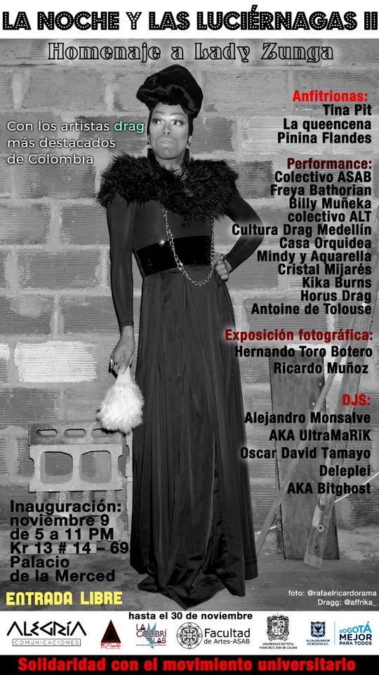 La Noche y Las Luciérnagas II:  Homenaje a Lady Zunga